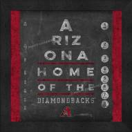 Arizona Diamondbacks Eye Chart