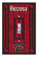 Arizona Diamondbacks Glass Single Light Switch Plate Cover