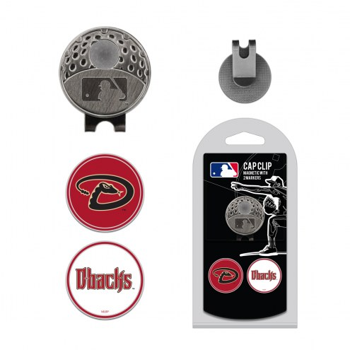 Arizona Diamondbacks Hat Clip & Marker Set