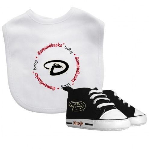 Arizona Diamondbacks Infant Bib & Shoes Gift Set