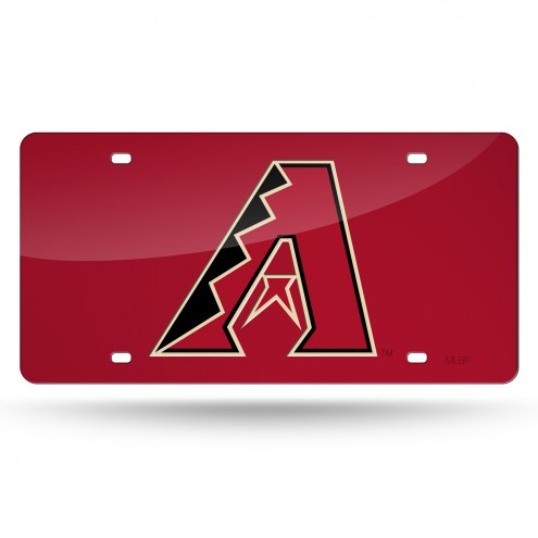 Arizona Diamondbacks Laser Cut License Plate