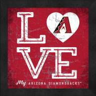 Arizona Diamondbacks Love My Team Color Wall Decor