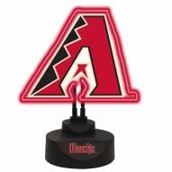 Arizona Diamondbacks Team Logo Neon Light