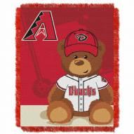 Arizona Diamondbacks MLB Baby Blanket