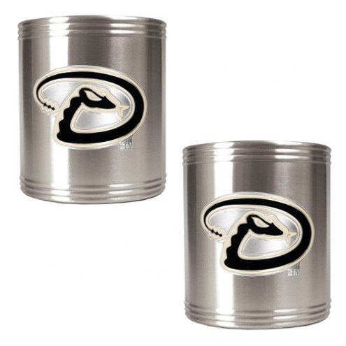 Arizona Diamondbacks MLB Stainless Steel Can Holder 2-Piece Set