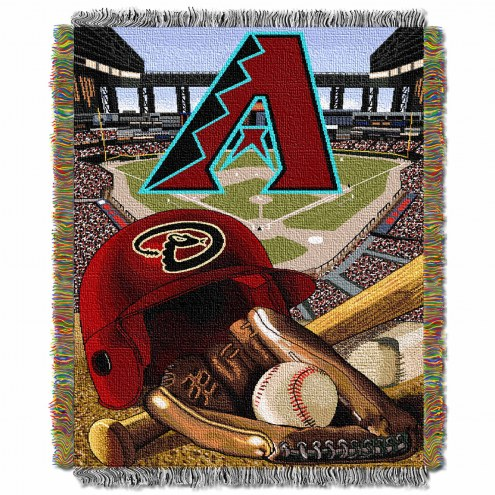 Arizona Diamondbacks MLB Woven Tapestry Throw Blanket