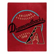 Arizona Diamondbacks Moonshot Raschel Throw Blanket