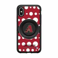 Arizona Diamondbacks OtterBox Symmetry Polka Dot PopSocket iPhone Case
