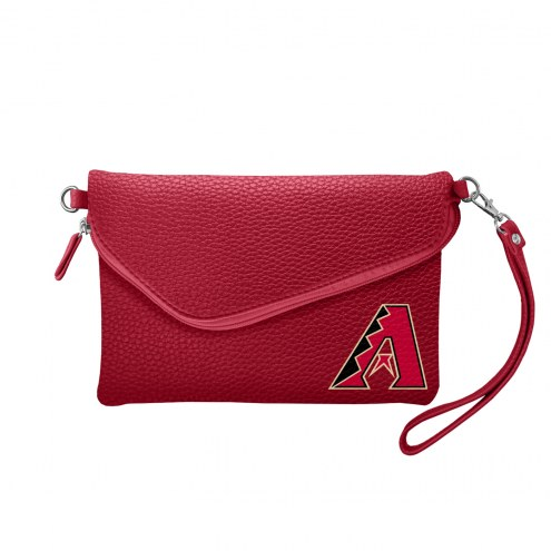Arizona Diamondbacks Pebble Fold Over Purse
