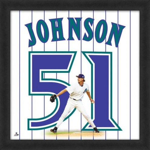 Arizona Diamondbacks Randy Johnson Uniframe Framed Jersey Photo