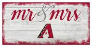 Arizona Diamondbacks Script Mr. & Mrs. Sign