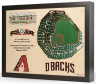Arizona Diamondbacks 25-Layer StadiumViews 3D Wall Art