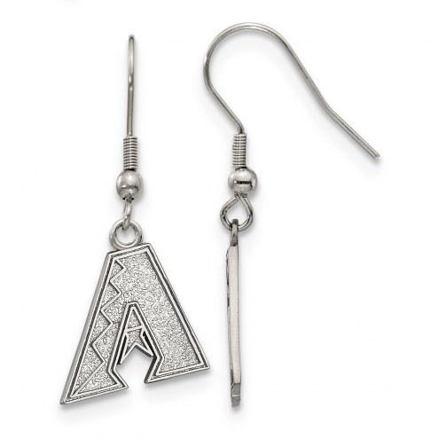 Arizona Diamondbacks Stainless Steel Dangle Earrings