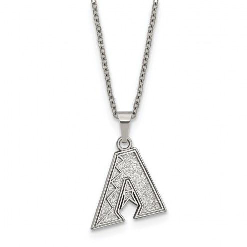 Arizona Diamondbacks Stainless Steel Pendant Necklace