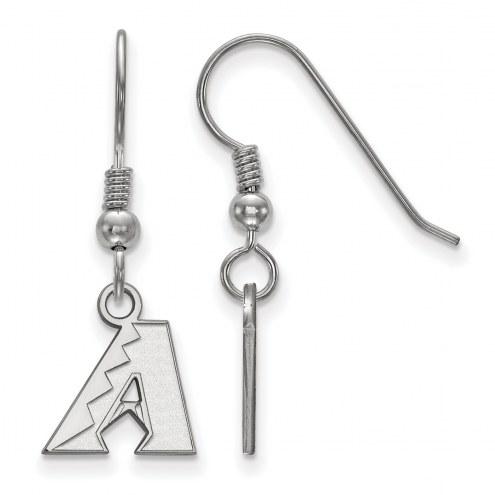 Arizona Diamondbacks Sterling Silver Extra Small Dangle Earrings