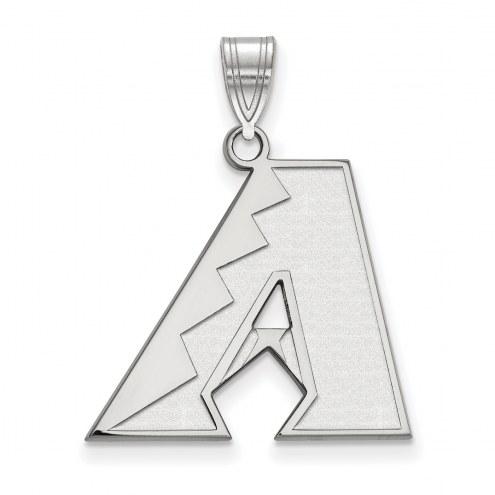 Arizona Diamondbacks Sterling Silver Large Pendant