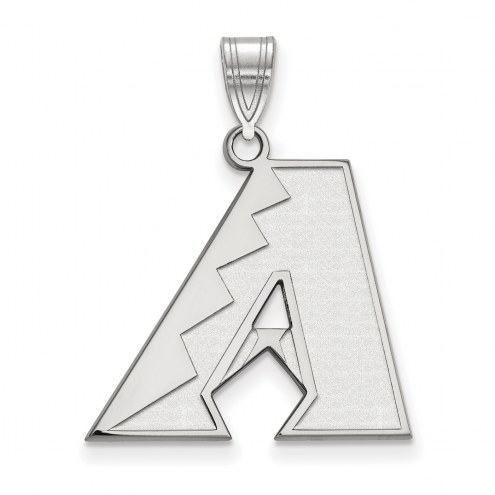 Arizona Diamondbacks Sterling Silver Large Pendant