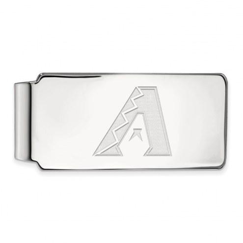 Arizona Diamondbacks Sterling Silver Money Clip