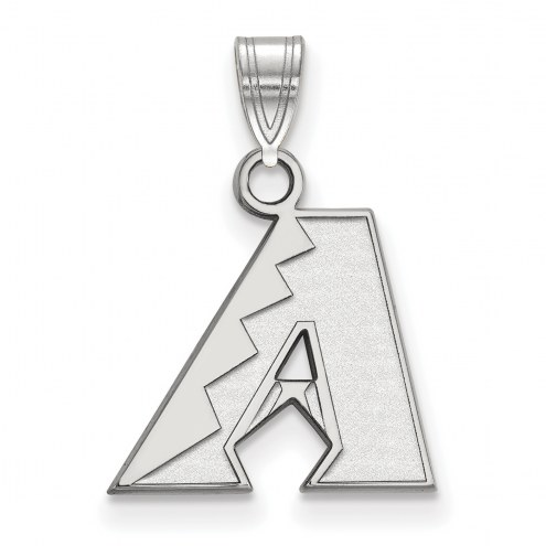 Arizona Diamondbacks Sterling Silver Small Pendant