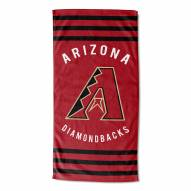 Arizona Diamondbacks Stripes Beach Towel