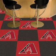 Arizona Diamondbacks Team Carpet Tiles