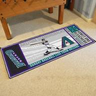 Arizona Diamondbacks Ticket Runner Rug