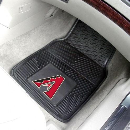 Arizona Diamondbacks Vinyl 2-Piece Car Floor Mats
