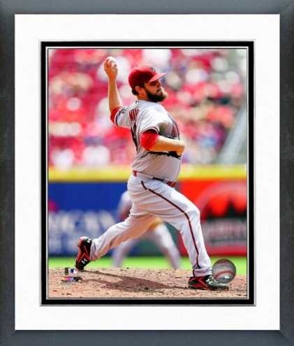 Arizona Diamondbacks Wade Miley Action Framed Photo
