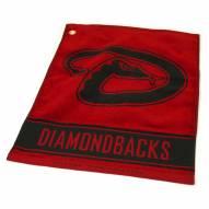 Arizona Diamondbacks Woven Golf Towel