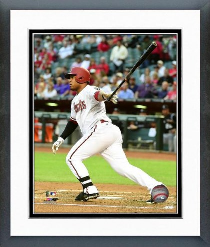 Arizona Diamondbacks Yasmany Tomas Action Framed Photo