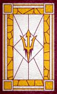 """Arizona State Sun Devils 11"""" x 19"""" Stained Glass Sign"""