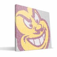"Arizona State Sun Devils 16"" x 16"" Typo Canvas Print"