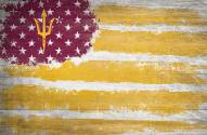 "Arizona State Sun Devils 17"" x 26"" Flag Sign"