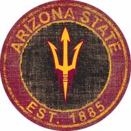 "Arizona State Sun Devils 24"" Heritage Logo Round Sign"