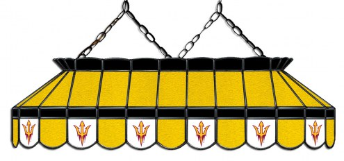 "Arizona State Sun Devils 40"" Stained Glass Pool Table Light"