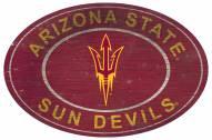 "Arizona State Sun Devils 46"" Heritage Logo Oval Sign"