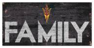 "Arizona State Sun Devils 6"" x 12"" Family Sign"