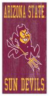 "Arizona State Sun Devils 6"" x 12"" Heritage Logo Sign"