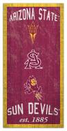 "Arizona State Sun Devils 6"" x 12"" Heritage Sign"