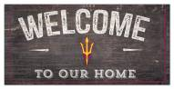 "Arizona State Sun Devils 6"" x 12"" Welcome Sign"