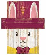 "Arizona State Sun Devils 6"" x 5"" Easter Bunny Head"