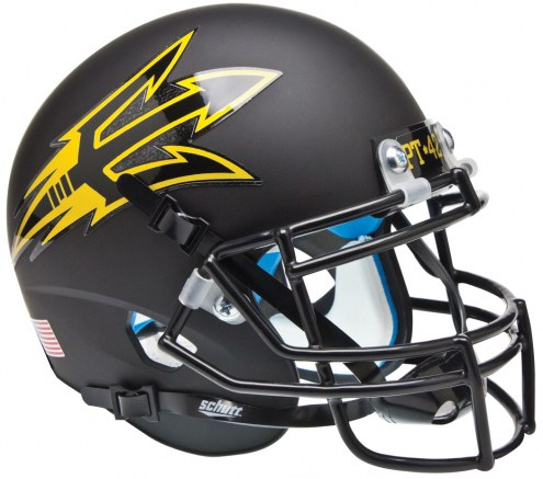 Arizona State Sun Devils Alternate 4 Schutt Mini Football Helmet