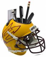 Arizona State Sun Devils Alternate 7 Schutt Football Helmet Desk Caddy