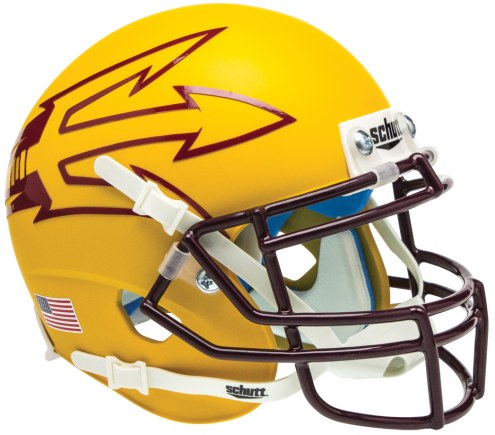 Arizona State Sun Devils Alternate 7 Schutt Mini Football Helmet