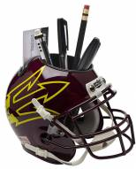 Arizona State Sun Devils Alternate 9 Schutt Football Helmet Desk Caddy