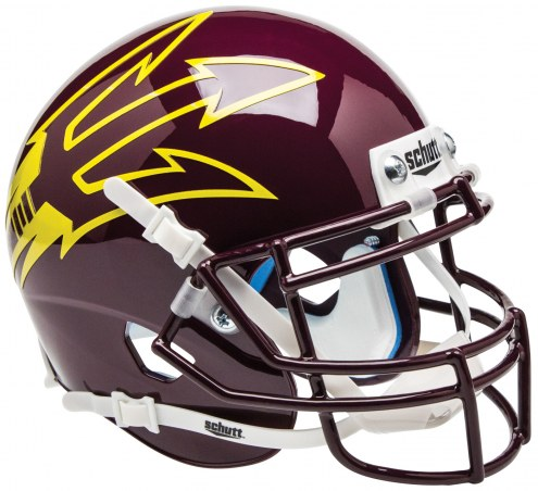 Arizona State Sun Devils Alternate 9 Schutt XP Authentic Full Size Football Helmet