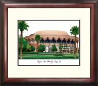 Arizona State Sun Devils Alumnus Framed Lithograph