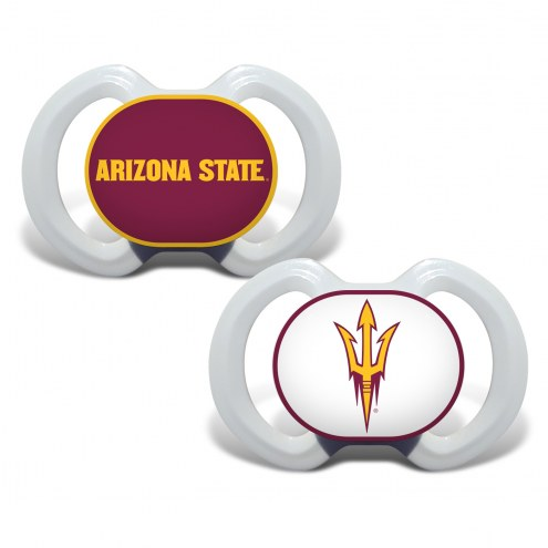 Arizona State Sun Devils Baby Pacifier 2-Pack