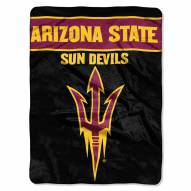 Arizona State Sun Devils Basic Plush Raschel Blanket