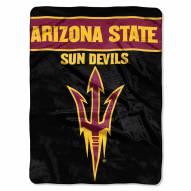 Arizona State Sun Devils Basic Plush Raschel Blanket